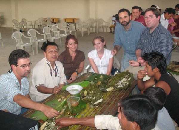 ecuador research team