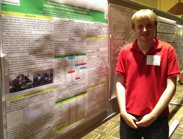will olson at ser conference